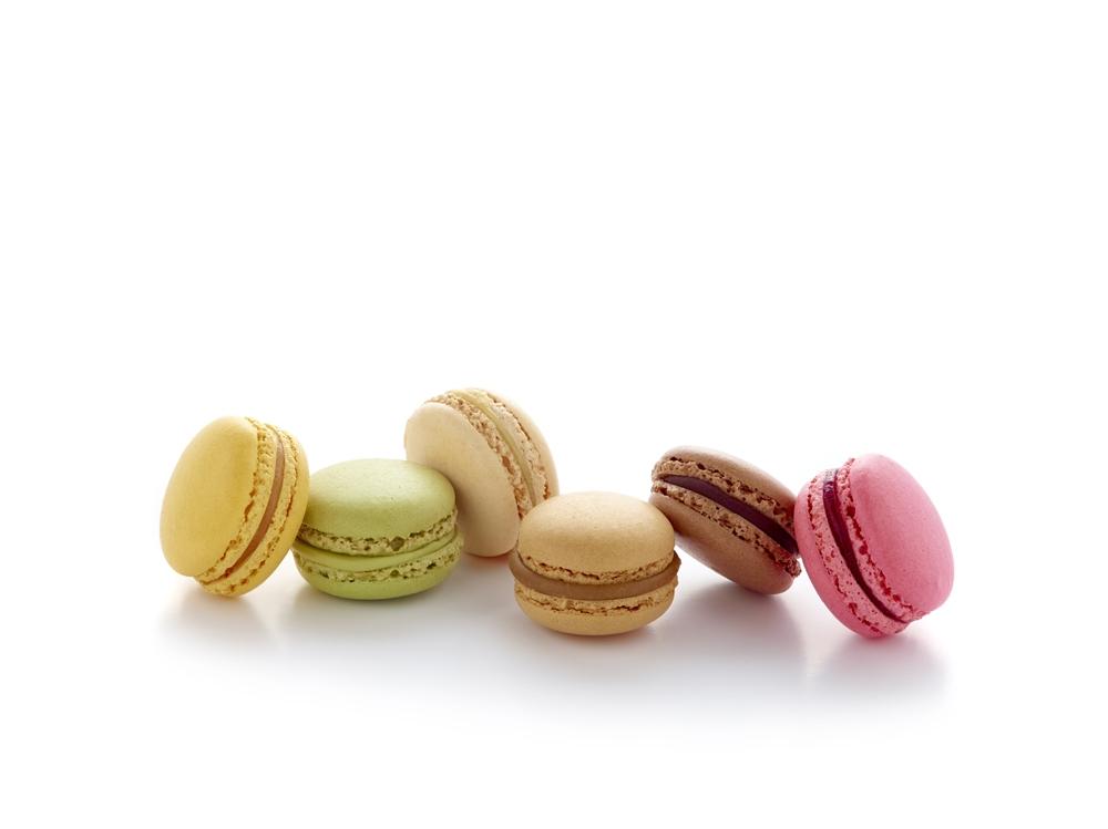 Französische Macarons   Poppies