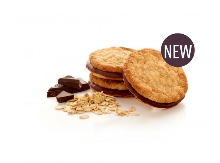 Biscuit d'avoine au goût chocolat